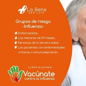 Etapa naranja. Grupos de riesgo de la influenza