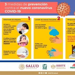 Medidas de prevención COVID19